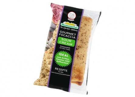 Mestemacher Gourmet Focaccia Sour Cream Brotspezialität 250g