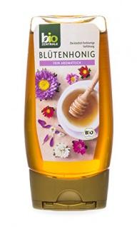 Biozentrale Blütenhonig duftig lieblich gluten & laktosefrei 350g 3er Pack