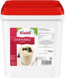 Frischli Sahne-Pudding Grieß schmeckt wie selbstgemacht 5000g