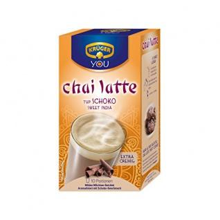 Krüger Chai Latte Typ Schoko Sweet India Milchteegetränk 250g