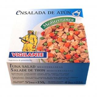 Thunfischsalat Mediterranea Thunfisch Gemüsesalat in Marinade 150g