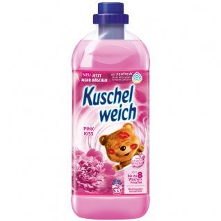 Kuschelweich Weichspüler Pink Kiss ergibt 33 Waschladungen 1L