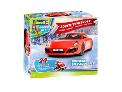 Revell Adventskalender Porsche 911 Carera Spielfahrzeug Junior Kit