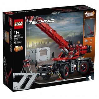 Lego Technic 42082 Geländegängiger Kranwagen Erreiche schwindelerregende Höhen