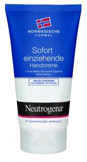 Neutrogena norwegische Formel sofort einziehende Handcreme, - Vorschau