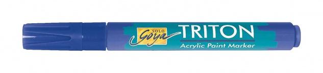 Kreul Acrylmarker SOLO Goya Triton Acrylic 1.4 Farbe Ultramarinblau