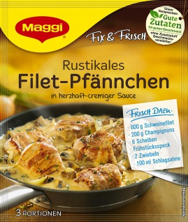 Maggi Fix für Rustikales Filet Pfännchen