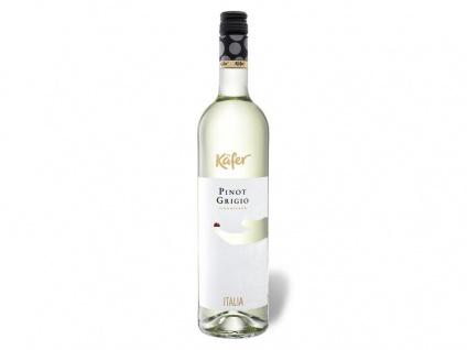 Käfer Pinot Grigio Weißwein Trocken aus Italien 750ml 6er Pack