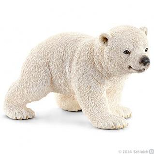 Schleich 14708 Wild Life Eisbärjunges handbemalt detailgetreu