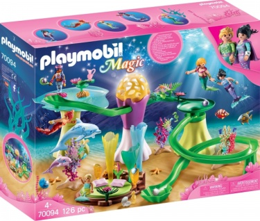 Playmobil Magic Korallenpavillon Leuchtkuppel Spielset 70094