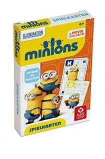 ASS Altenburger 22578000 - Minions, Spielkarten oder Mau, gelb - Vorschau 2