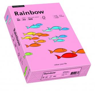 Kopierpapier Rainbow rosa DIN A4