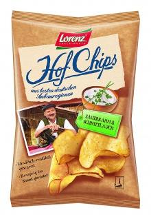Lorenz Hof Chips Sauerrahm 110g
