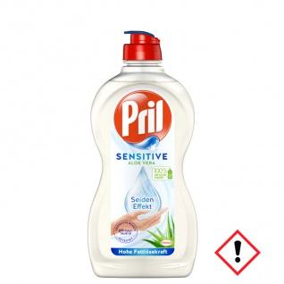 Pril 5 Plus Sensitive Geschirrspülmittel Aloe Vera 450ml 14er Pack