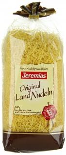 Jeremias Fadennudeln Gourmet Frischei-Landnudeln, 3er Pack (3 x 500 g)