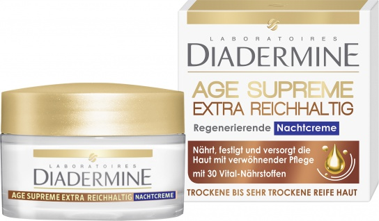 Diadermine Age Supreme Extra Reichhaltige Nachtcreme Omega 6 50ml
