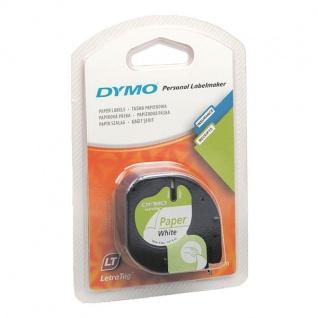 Dymo LT Band Papier schwarz auf wei