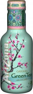 Arizona Original Grüner Tee mit Honig Eistee Einwegflasche 500 ml