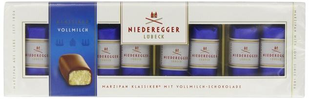 Niederegger Marzipan Klassiker Vollmilch Schokolade 100 g 2er Pack