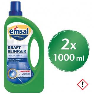 Emsal Kraftreiniger Besonders intensiv Flasche 1000ml 2er Pack