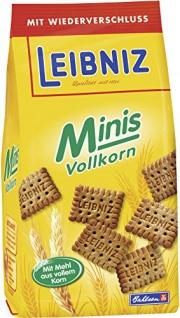 Bahlsen Leibniz MINIS Vollkorn SK 12, 6er Pack (6 x 125 g)