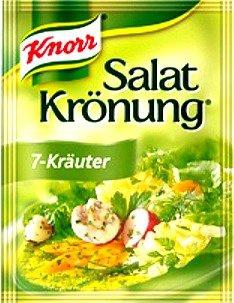 Knorr Salatkrönung 7 Kräuter klares Salatdressing 10g 5x5er Pack