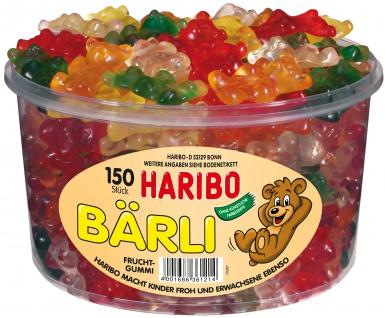 Haribo extra große Bärli in verschiedenen Geschmacksrichtungen 1200g