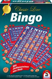 Spiel Bingo mit gr. Spielfiguren