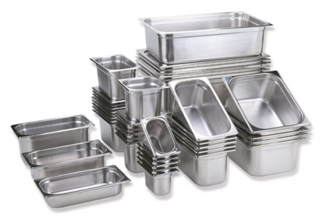 Assheuer und Pott Gastronomie Behälter aus Edelstahl 100mm 6000ml