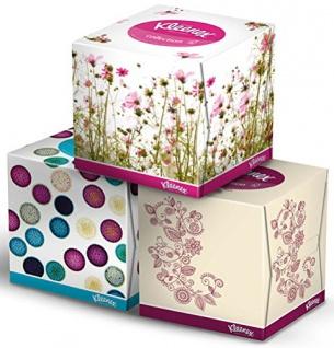 Kleenex Collection Kosmetiktücher-Box, 3-lagig - 56 St.