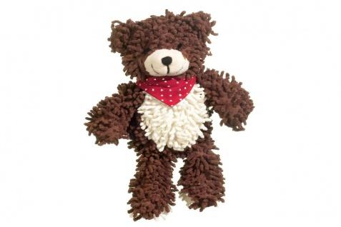 Hundeplüschspielzeug Plüschspielzeug Teddybär Moppy mit Quitscher