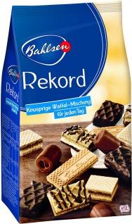 12 Beutel Bahlsen Rekord Gebäckmischung Gebäckmischung mit edelherber Schokolade (8, 1 %) und Fruchtfüllung (7, 8 %) a 350g