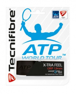 Tecnifibre Tennis Griffband schwarz ATP World Tour XTra Feel