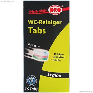 ORO-fresh WC-Reiniger Tabs 16x25g 2994