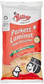 Poliboy Parkett Laminat Feuchttücher, 15 Stück - Vorschau