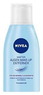 Nivea Sanfter Augen Make-Up Entferner, 1er Pack (1 x 125 ml)