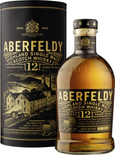 Aberfeldy Highland Single Malt Whisky 12 Jahre 40 % Vol. 700ml