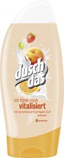 Duschdas fruit & Cream Duschgel fruchtig Vitalisierent 250ml 6er Pack