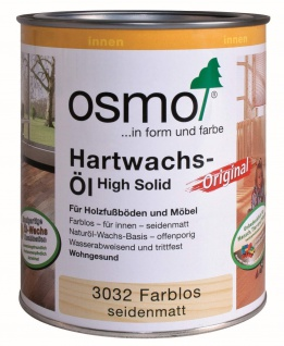 Hartwachs-Öl farblos 2500ml