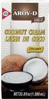 Aroy D Kokosnusscreme Cremig Asia Küche Inhalt Packung 1000ml