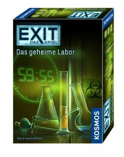 Kosmos das Spiel EXIT Teamgeist und Kreativität Das geheime Labor