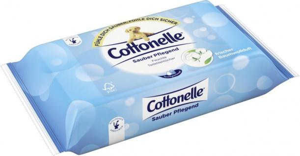 Cottonelle Feucht T. Clean Comfort, 42 Stück