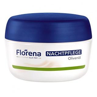Florena Nachtpflege mit Olivenöl Feuchtigkeit für trockene Haut 50ml