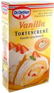 Dr. Oetker Torten Creme Vanilla 100g