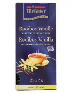Meßmer Profiline Rooibos Vanille Tee aromatisiert 25 Teebeutel