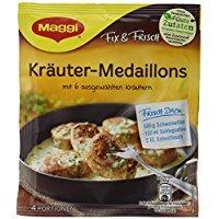 Maggi fix & frisch Kräuter-Medaillons, Beutel, ergibt 4 Portionen