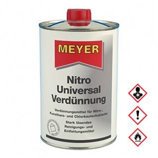 Meyer Nitro Universal Verduennung Rueckstaende Entferner 1000ml