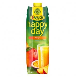 Rauch Happy Day Mango Fruchtsaft aus Mangomark mit Vitamin C 1000ml