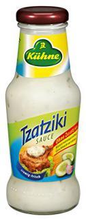 Kühne Würzsauce Tzatziki, 250 ml D, A, F, NL, GB, GR, 1er Pack (1 x 250 ml)