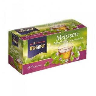Meßmer Melissen Mischung mild und frischer Geschmack 12er Pack